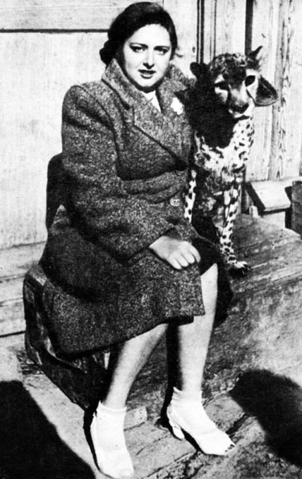 Наталья Дурова работала с разными животными.