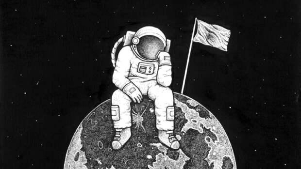 Подъем луны - непросто претерпеть... Белла Ахмадулина