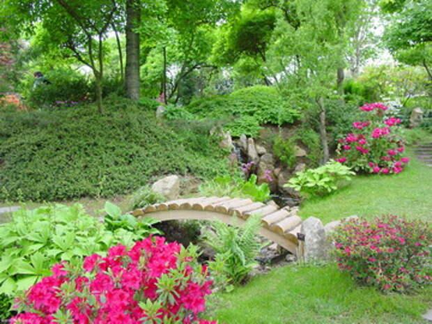 Природный стиль сада