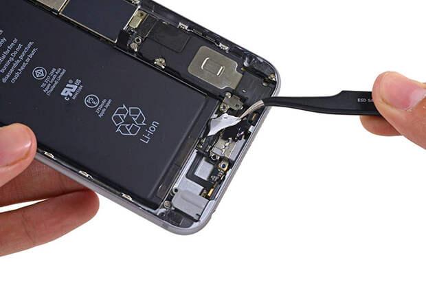 Что внутри нового iPhone 6s