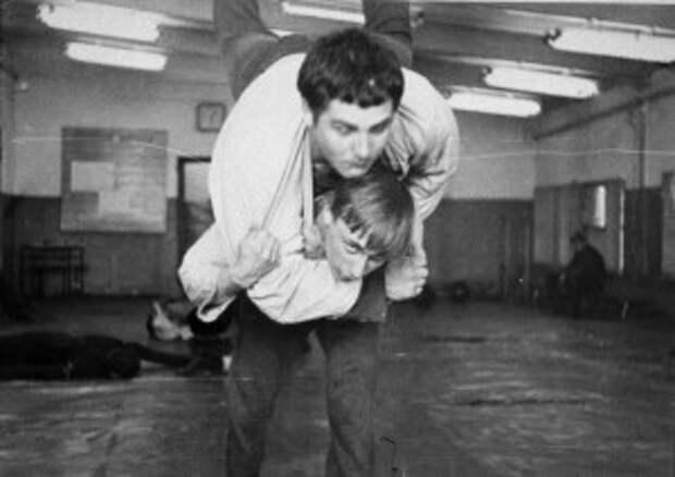 Путин в секции дзюдо с другом Василием Шестаковым в Ленинграде, в 1971 году