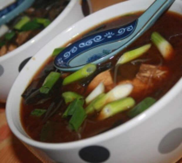 Мисо суп с курицей