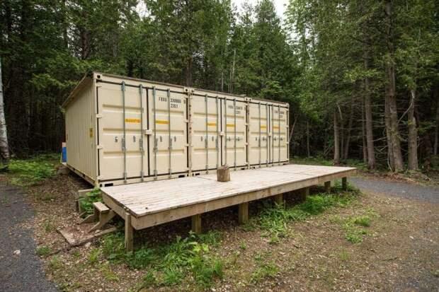 дом из контейнеров, дом внутри контейнеров, дом из грузовых контейнеров