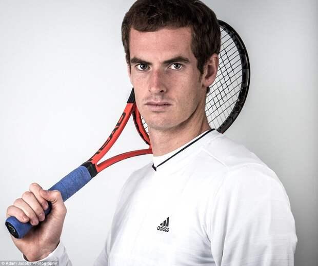Теннисист Энди Маррей.