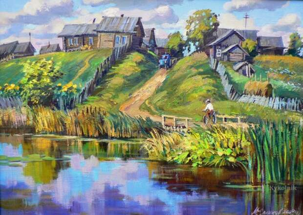 пейзажи художник Сергей Малов - 03