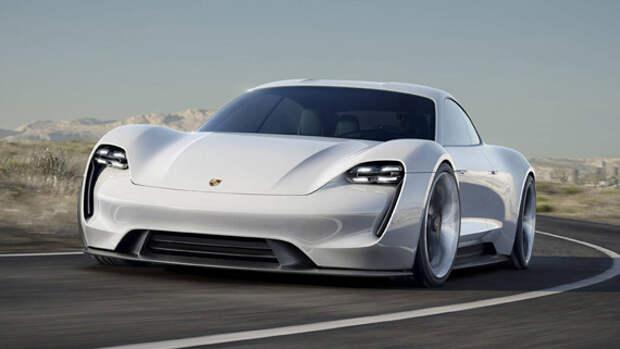 Электрический концепт Porsche Mission E штурмует Франкфурт [Фотогалерея]
