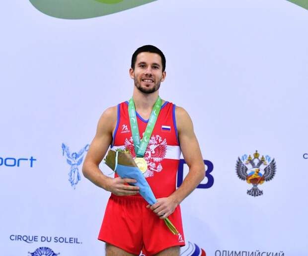 В личном первенстве Заломин выиграл в дисциплине двойной мини-трапм/wikipedia.org