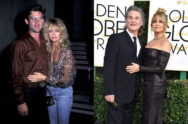 Раньше и сейчас: Фотографии звездных пар от знакомства до сегодняшнего дня