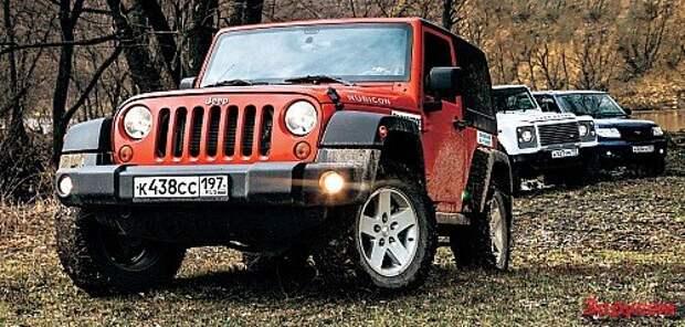 UAZ Patriot, Jeep Wrangler, Land Rover Defender: из грязи – в князи
