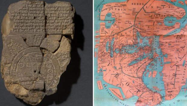 Какой видели Землю наши предки: Старинные географические карты самых странных форм
