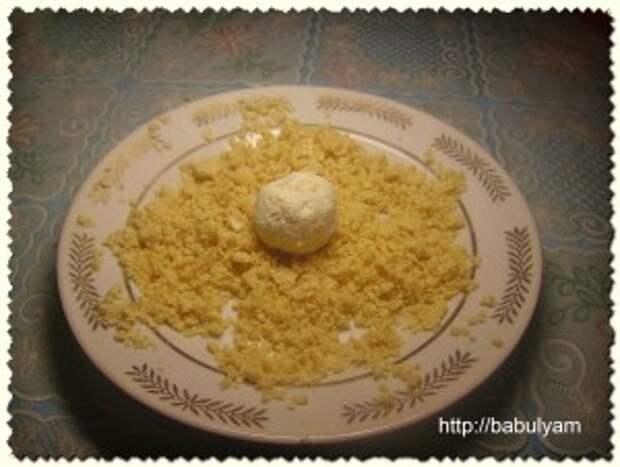 Домашнее Рафаэлло. Творожный десерт