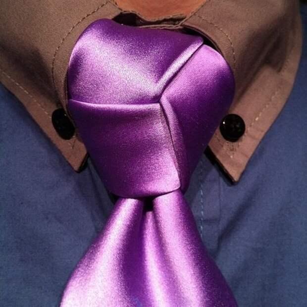 Четырехугольный узел галстука (Diy)