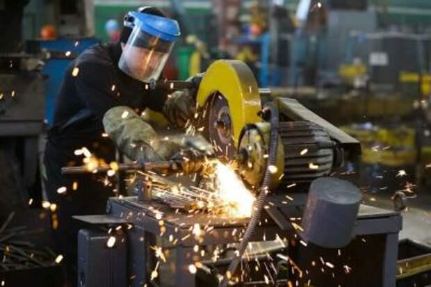 Снижение промпроизводства в России в 2020 году составило 2,9%