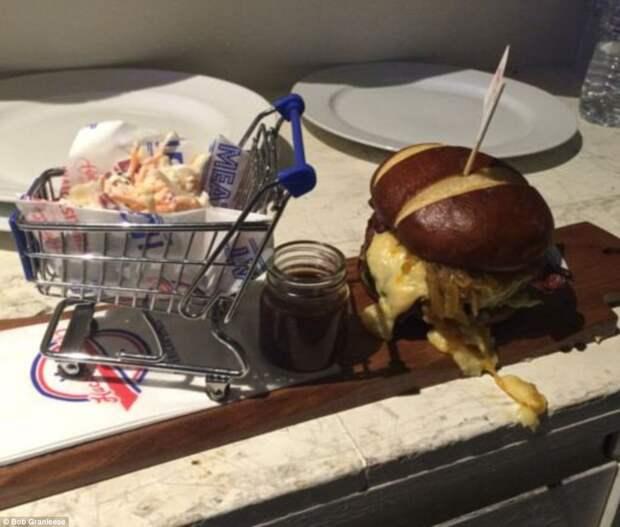 Необычный способ подать еду