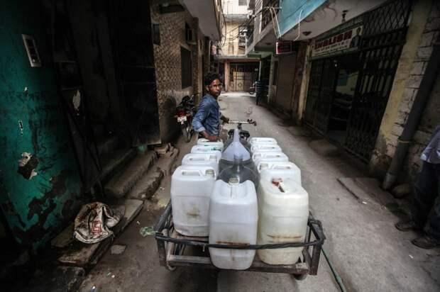Жизнь в городе без питьевой воды