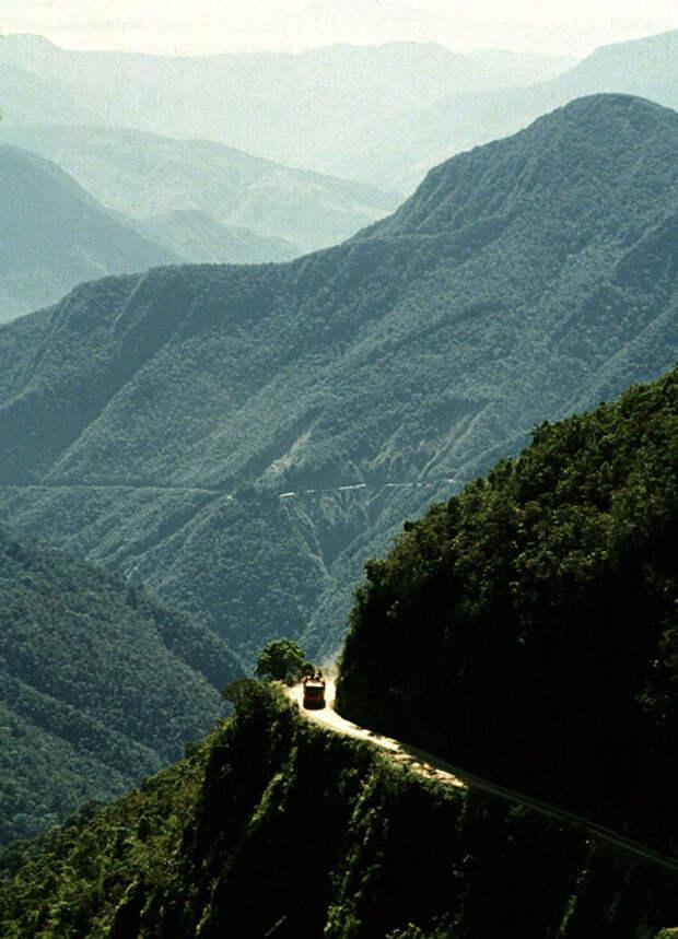 Дорога Смерти, Боливия дорога, путешествие, трасса