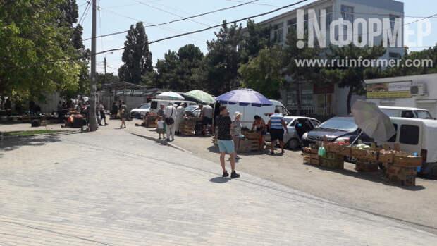 Борьба с несанкционированной торговлей в Севастополе приобретает уродливые формы
