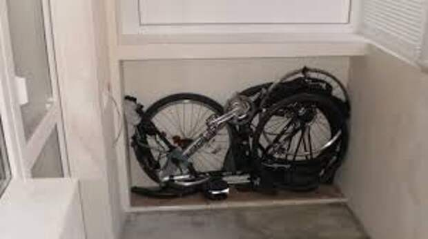 Хранение велосипедов на балконе и лоджии (трафик)