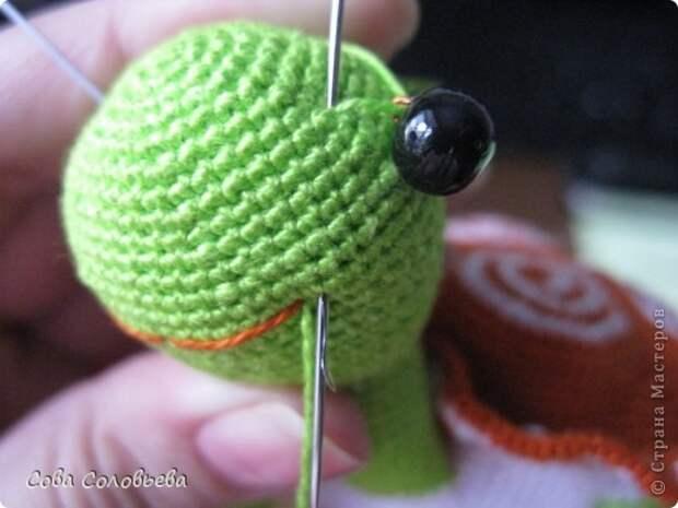 Мастер-класс по вязанию черепашки