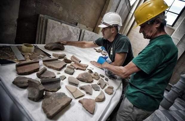 В Риме нашли фундамент особняка царского периода