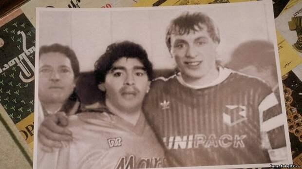 Диего Марадона в Москве.