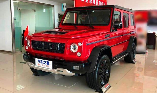 """Такой """"Гелик"""" стоит своих денег! Китайская копия """"Гелика"""" - Beijing BJ80 дешевле в 3 раза и по цене УАЗ Patriot"""