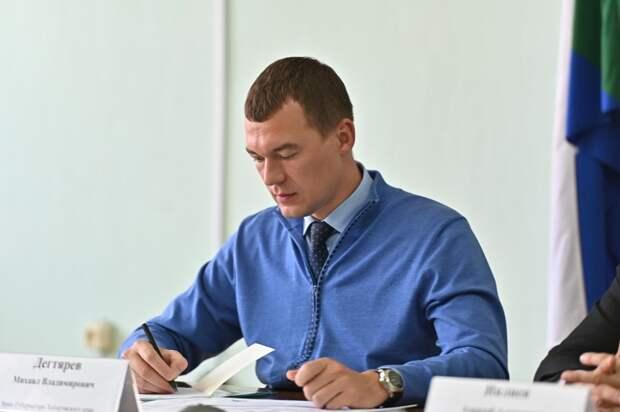 Новый автокран появился в селе Хабаровского края по поручению Михаила Дегтярева
