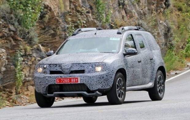 Renault приступила к тестам нового поколения Duster (ФОТО)
