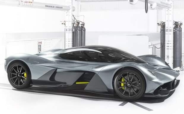 Энергетик на колесах: Red Bull и Aston Martin сотворили гиперкар