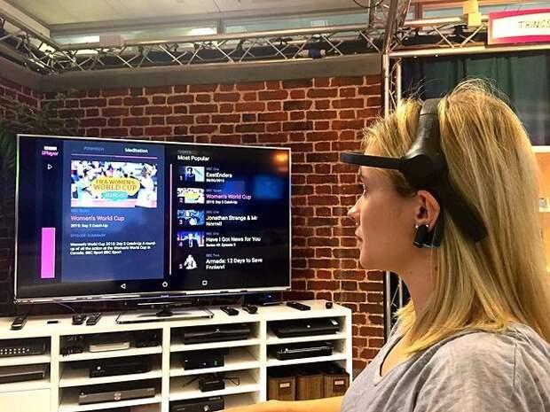 BBC показала прототип телевизора с управлением силой мысли