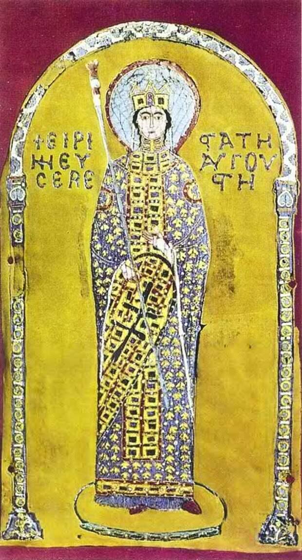 Ирина - баба на царство, папе легче :  Константинополь в  797 году