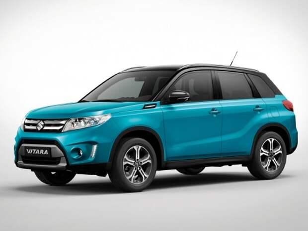 Suzuki Vitara появится в России в августе