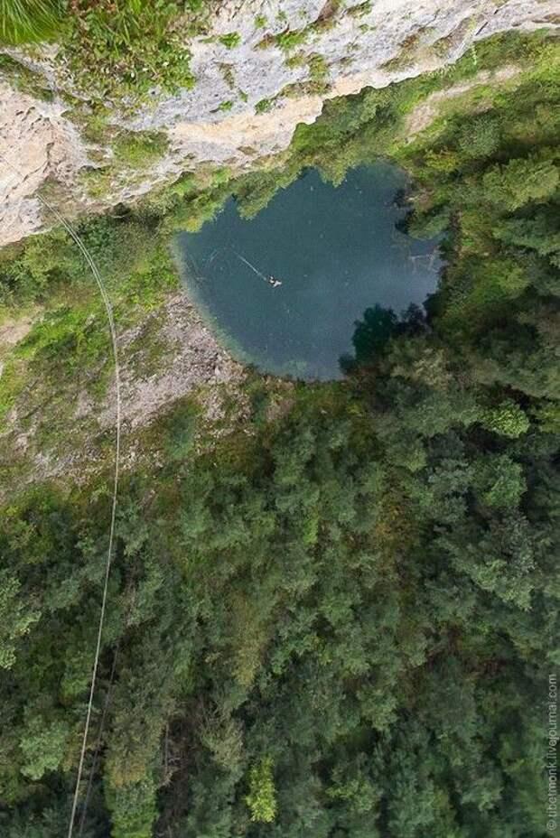 ropejumping29 Прыжок в Сухое озеро