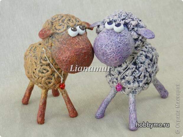 Овечка из киндера своими руками,год овцы,новый год 2015,поделки из киндера,поделки из киндер-сюрприза,киндер,овечки своими руками,овцы,овечки,вторая жизнь вещей,папье-маше