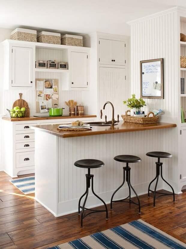 20 идей, как выжать максимум пространства из маленькой кухни