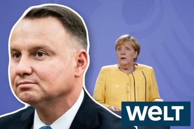 Die Welt: «Поведение Анджея Дуды оскорбительно для Германии»