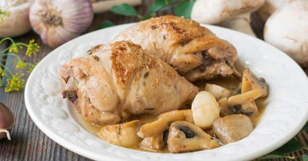 Курица с шампиньонами - идеальное сочетание для приготовления вкусных блюд