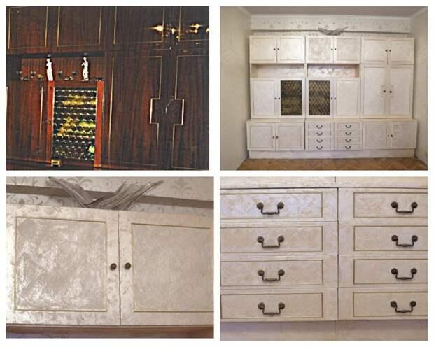 Реанимация старой мебели - красота или уродство? Фабрика идей, мебель, новое, переделка, старое