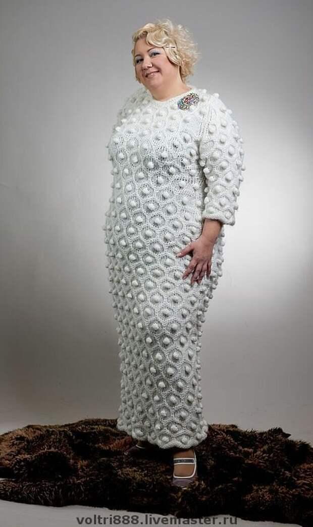 9 стильных вязаных платьев для разных типов фигуры