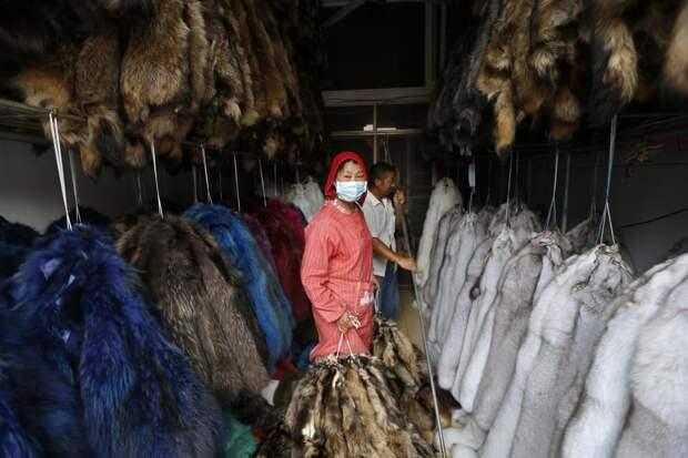 Производство меха