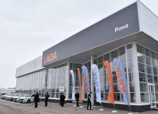 Продажи АВТОВАЗа потянулись вверх впервые за два года
