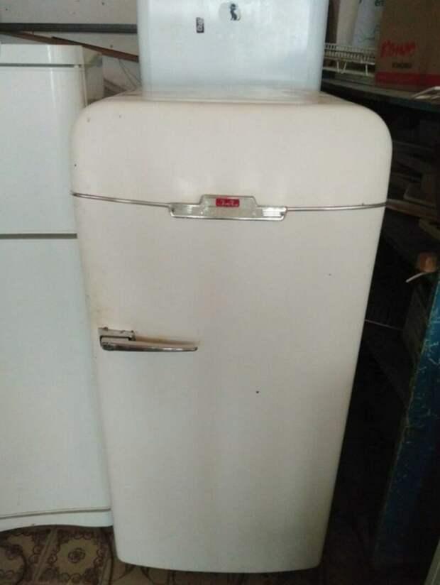 Вторая жизнь для советского холодильника «ЗИЛ»