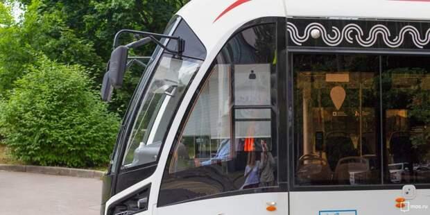 Из-за последствий непогоды трамваи задерживаются на улице Клары Цеткин