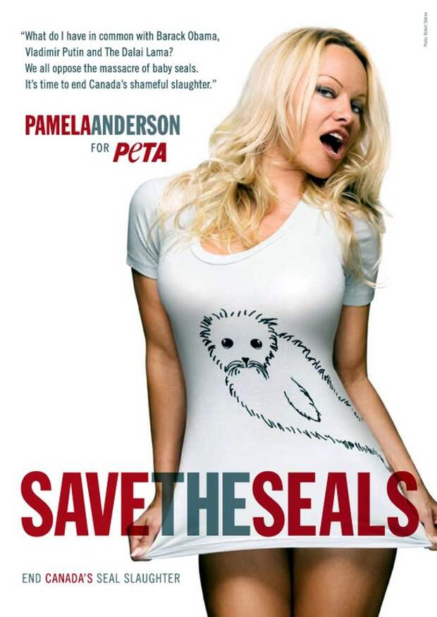 Pamela Anderson: Save the Seals