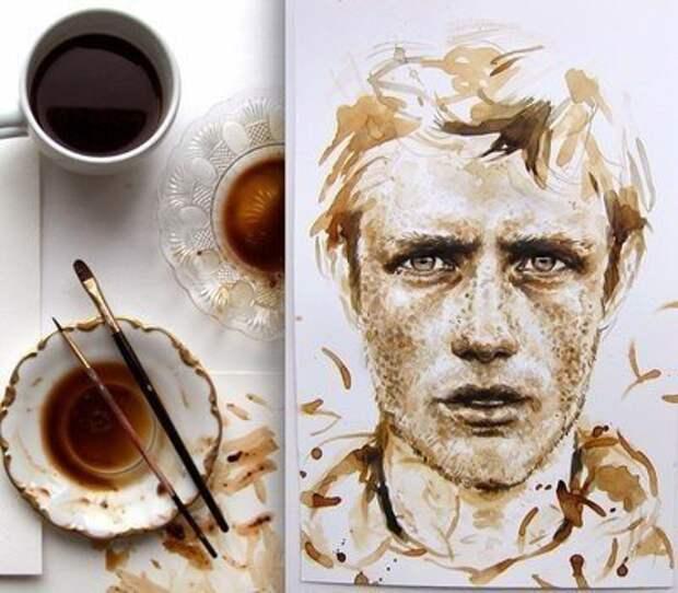 Рисунок кофе