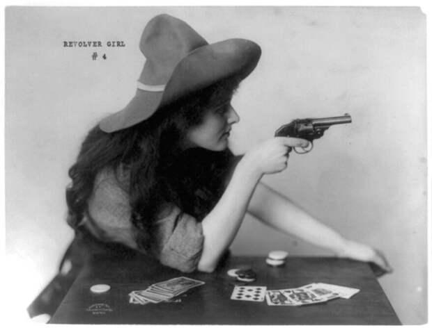 Женское оружие разных эпох девушки, история