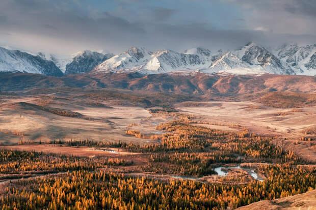 Северо-Чуйский хребет. Горный Алтай