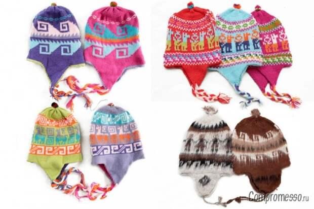 перуанские шапки