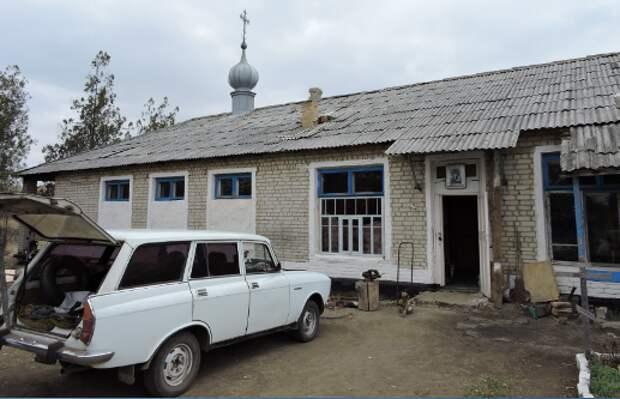 Храм в селе Каменка