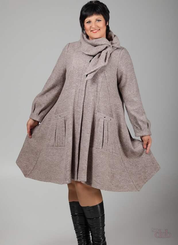 Пальто скрывающее недостатки
